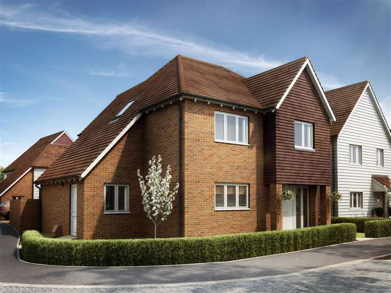 3 Bedrooms Detached House for sale in The Chartham, Berberis Place, Woodchurch Road, Shadoxhurst