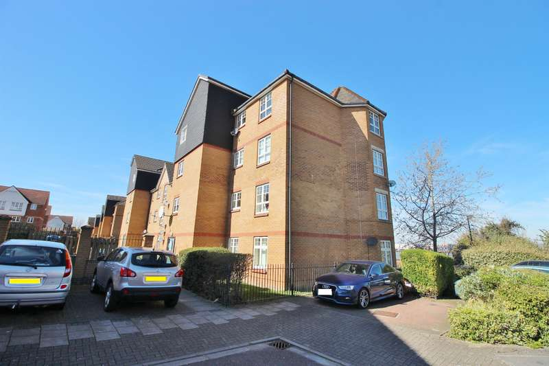 2 Bedrooms Flat for sale in Greenhaven Drive, Thamesmead, London, SE28 8FT