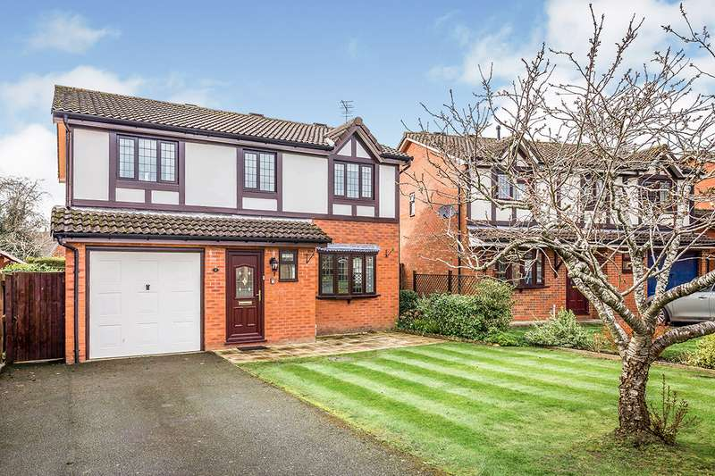 4 Bedrooms Detached House for sale in Plas Cerrig Close, Whittington, Oswestry, Shropshire, SY11