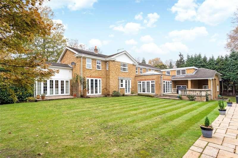 6 Bedrooms Detached House for sale in Ince Road, Burwood Park, Walton-on-Thames, Surrey, KT12