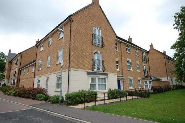 2 Bedrooms Apartment Flat for sale in Malsbury Ave, Leicester, Leicestershire, LE7 9FQ
