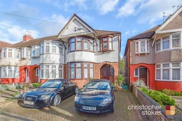 3 Bedrooms Semi Detached House for sale in Dimsdale Drive, Enfield, Greater London