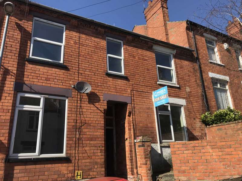 2 Bedrooms Terraced House for sale in Bernard Street, Lincoln