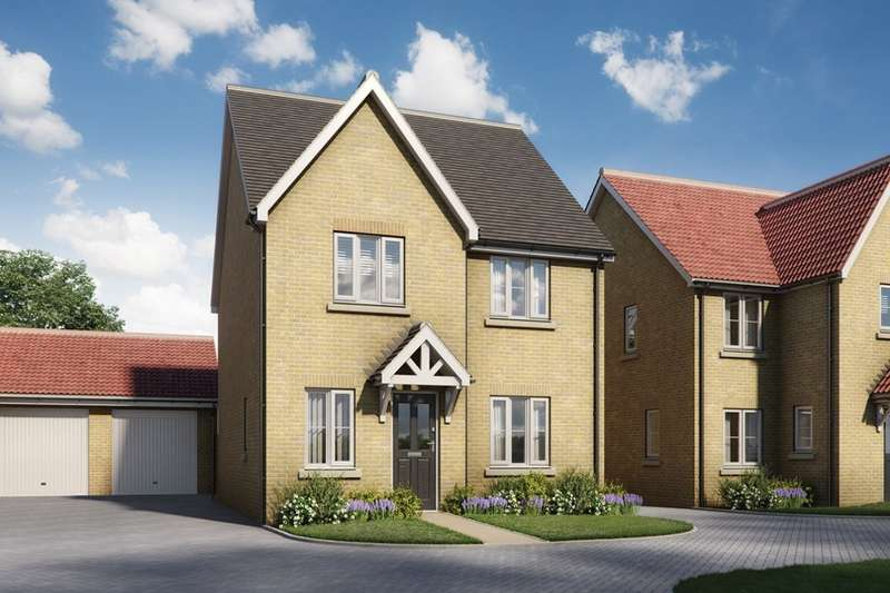 4 Bedrooms Detached House for sale in Four Elms Place, Chattenden, Rochester, Kent, ME3