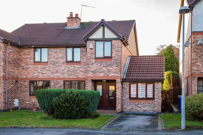 4 Bedrooms Semi Detached House for sale in Border Brook Lane, Worsley, Manchester, M28 1XJ