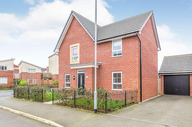 4 Bedrooms Detached House for sale in Townsend Drive, Buckshaw Village, Chorley, Lancashire, PR7