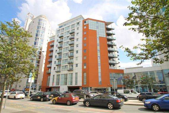 1 Bedroom Apartment Flat for rent in Meridian Plaza, Bute Terrace, Cardiff