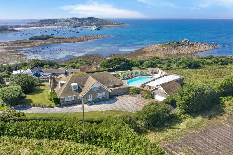 5 Bedrooms Detached House for sale in St. Mary's, Isles Of Scilly