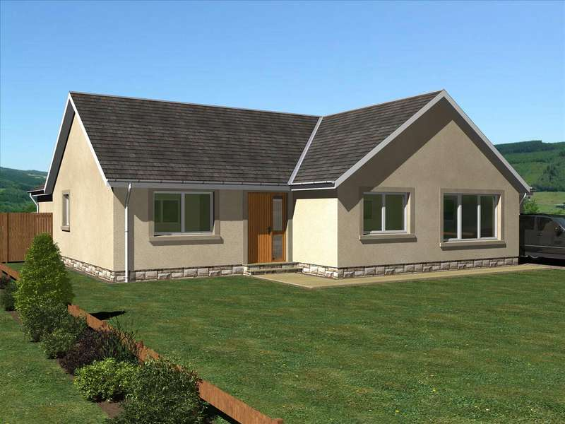3 Bedrooms Detached Bungalow for sale in The Scott, East Broomlands, Kelso