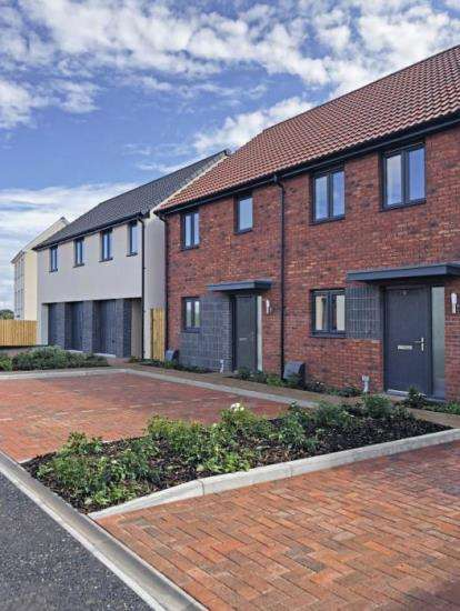 End Of Terrace House for sale in Cranbook New Town, Rockbeare, Exeter