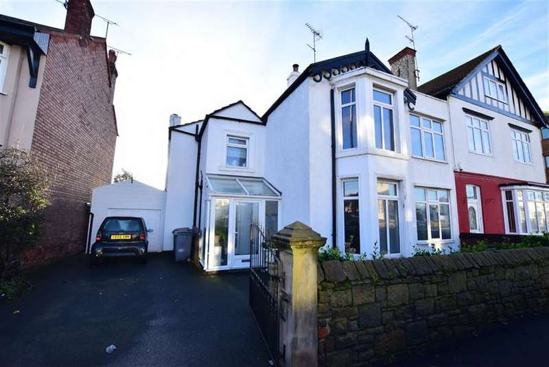 4 Bedrooms Semi Detached House for sale in Grove Road, Wallasey, Merseyside