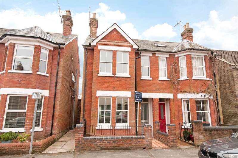 4 Bedrooms Semi Detached House for rent in Monks Road, Hyde, Winchester, SO23