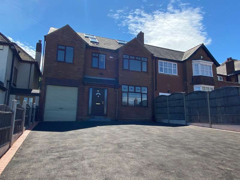 6 Bedrooms Detached House for sale in Oakham Road, Dudley, West Midlands, DY2