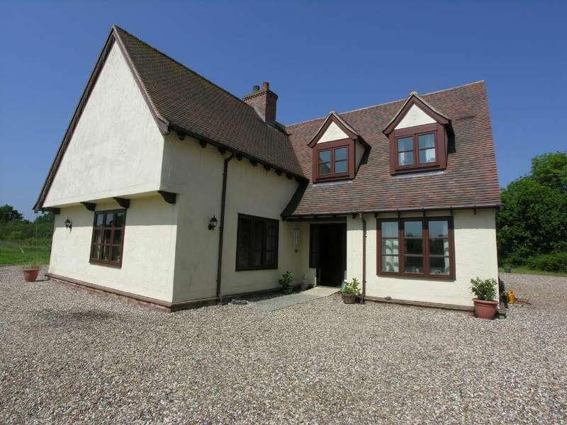 5 Bedrooms Detached House for sale in Pledgdon Green, Henham