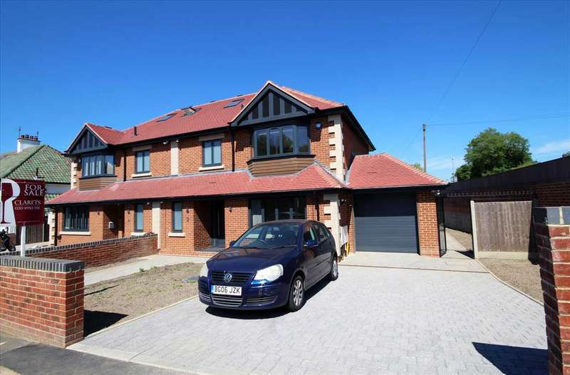 4 Bedrooms Semi Detached House for sale in Reddings Avenue, Bushey, WD23.