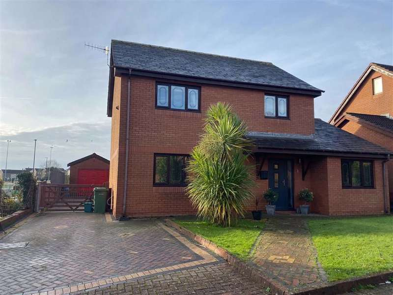 4 Bedrooms Detached House for sale in Coedcae Uchaf, Llanelli