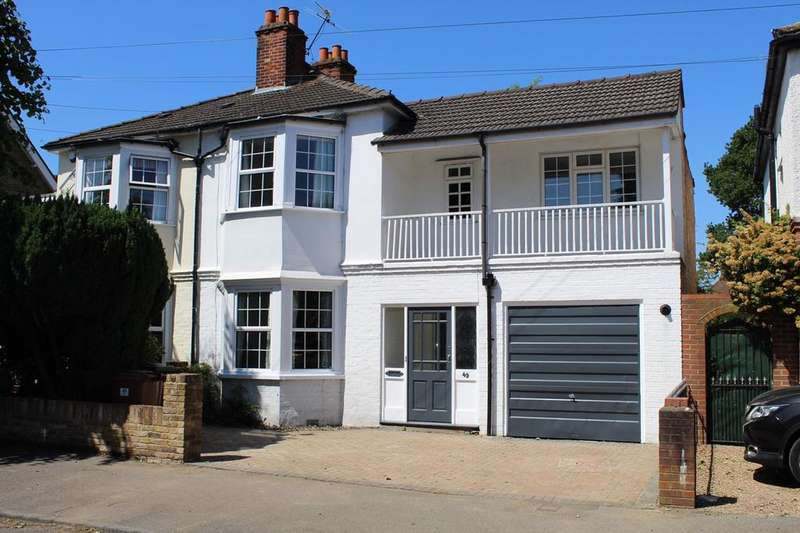 4 Bedrooms Semi Detached House for sale in Parkland Grove, Ashford, TW15