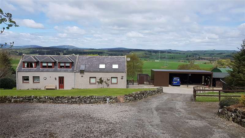 4 Bedrooms Equestrian Facility Character Property for sale in Backbrae Stables, Chapel of Garioch, Inverurie, Aberdeenshire, AB51