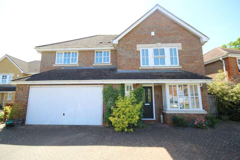 4 Bedrooms Detached House for sale in Manor Park, Staines-upon-Thames