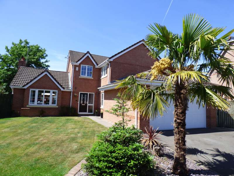 4 Bedrooms Detached House for sale in Farcroft Close, St Johns Wood, Offerton, Stockport, SK2