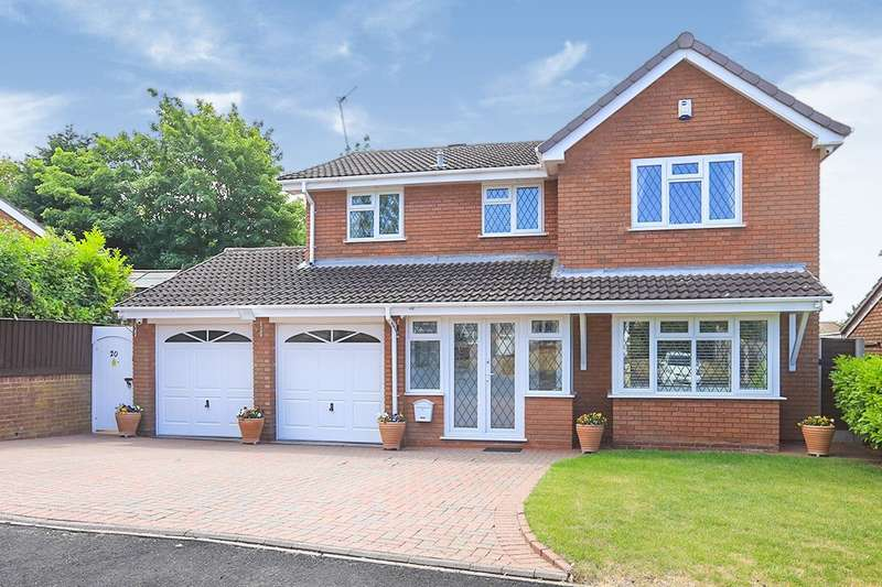 4 Bedrooms Detached House for sale in Farleigh Road, Perton, Wolverhampton, Staffordshire, WV6