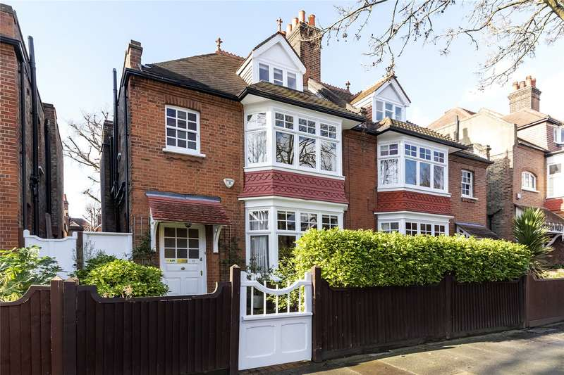 5 Bedrooms Semi Detached House for sale in Fairfax Road, London, W4