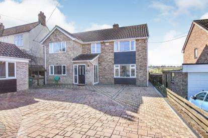 4 Bedrooms Detached House for sale in Hamshill, Coaley, Dursley, Gloucestershire