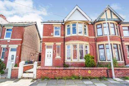 3 Bedrooms Semi Detached House for sale in Leckhampton Road, Blackpool, Lancashire, ., FY1
