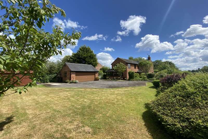 3 Bedrooms Detached House for sale in Crewe Road, Willaston, Nantwich, CW5