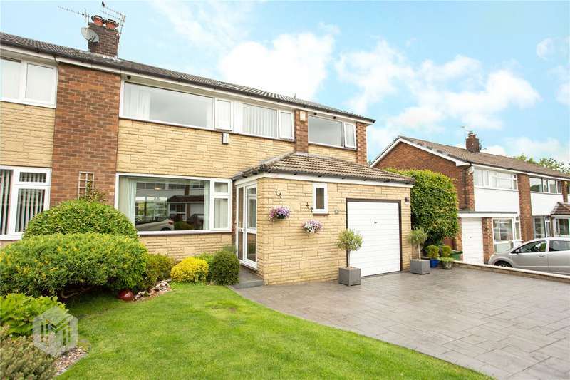 4 Bedrooms Semi Detached House for sale in East Walk, Egerton, Bolton, Greater Manchester, BL7