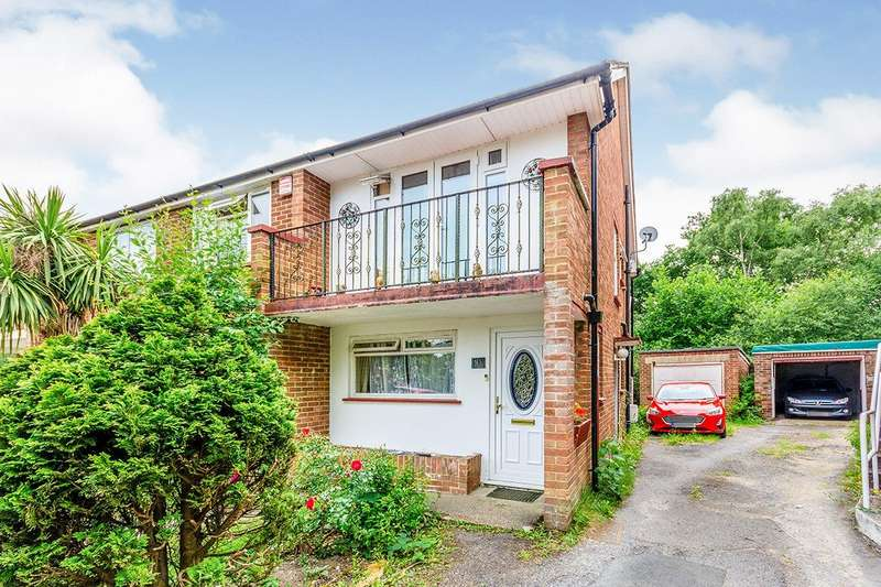 2 Bedrooms Maisonette Flat for sale in Courtland Gardens, Southampton, Hampshire, SO16