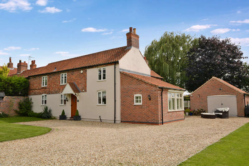 4 Bedrooms Cottage House for sale in 4 Elbow Cottage, Hawton