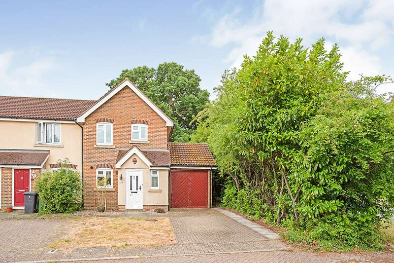 2 Bedrooms End Of Terrace House for sale in Aghemund Close, Chineham, Basingstoke, Hampshire, RG24