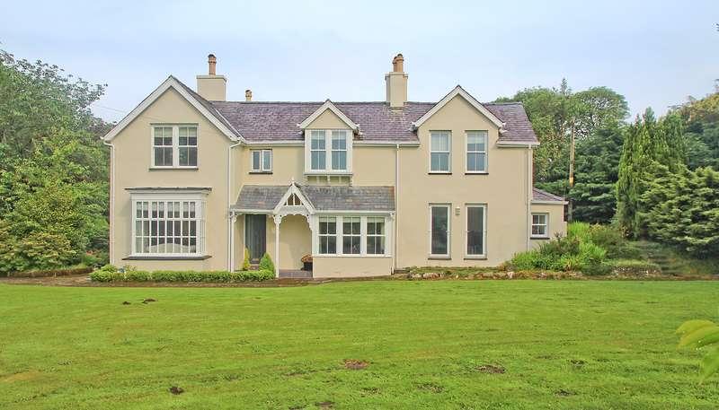 4 Bedrooms Detached House for sale in Dinas, Caernarfon, Gwynedd, LL54