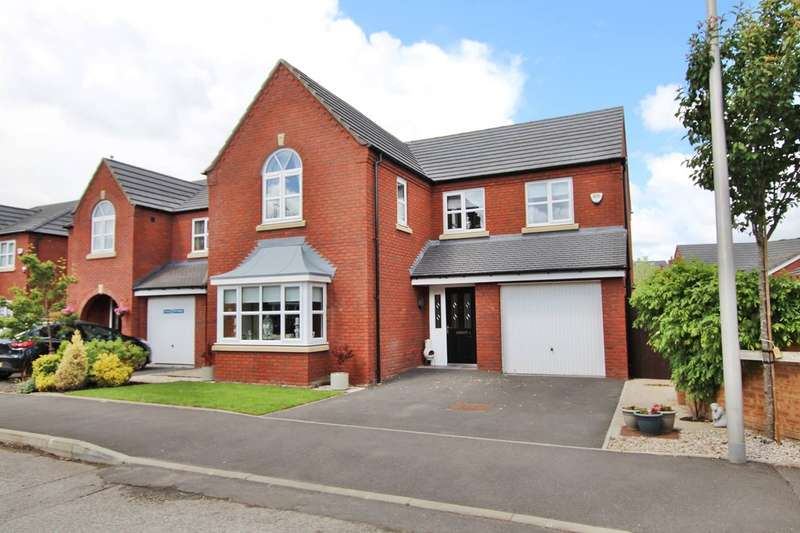 4 Bedrooms Detached House for sale in Washington Close, St Helens, WA9