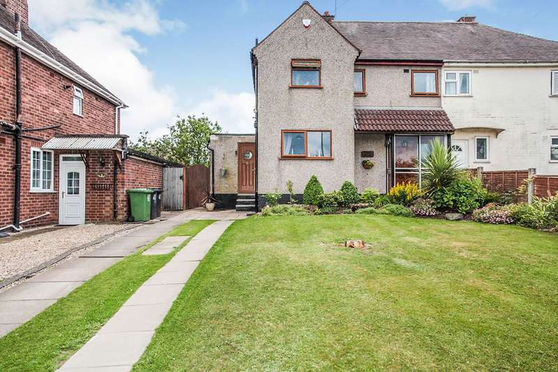 3 Bedrooms Semi Detached House for sale in Donnithorne Avenue, Nuneaton, Warwickshire, CV10