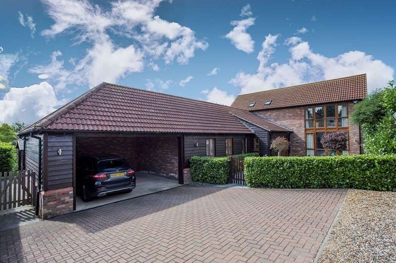 4 Bedrooms Detached House for sale in Middletons Road, Yaxley, Peterborough, PE7 3LR