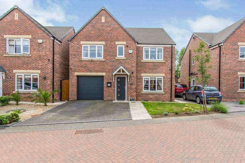 5 Bedrooms Detached House for sale in Hughes Way, Wath-upon-dearne, Rotherham, South Yorkshire, S63