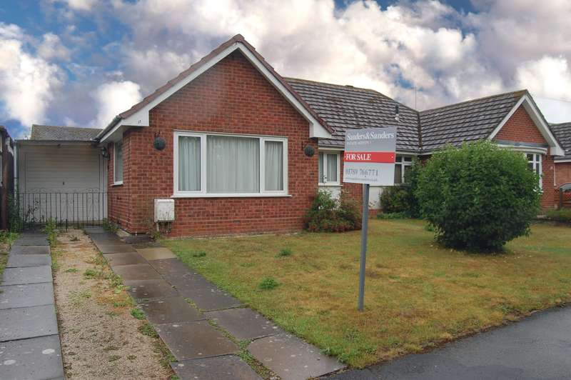 2 Bedrooms Semi Detached Bungalow for sale in St. Marys Road, Alcester, B49