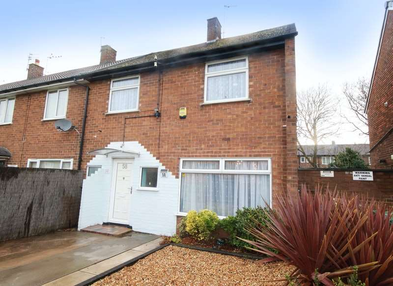 3 Bedrooms End Of Terrace House for sale in Livingstone Road, Wirral, Merseyside, CH46