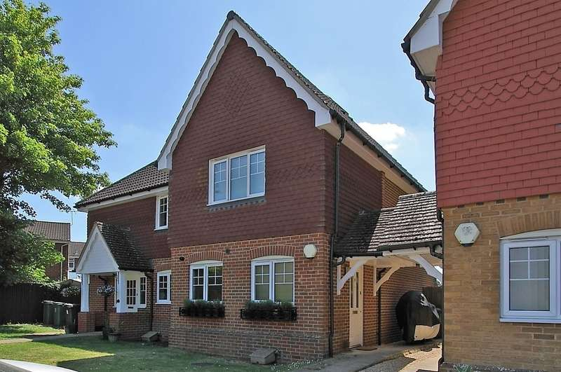 2 Bedrooms Semi Detached House for sale in Ashley Gardens, Oakley