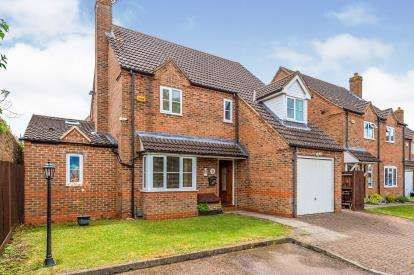 4 Bedrooms Detached House for sale in St Pauls Gardens, Luton, Bedfordshire