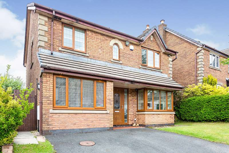 4 Bedrooms Detached House for sale in Balfour Close, Brierfield, Nelson, BB9