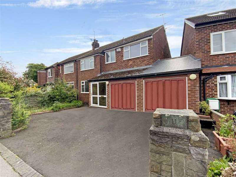 3 Bedrooms Semi Detached House for sale in Urwick Road, Romiley, Stockport