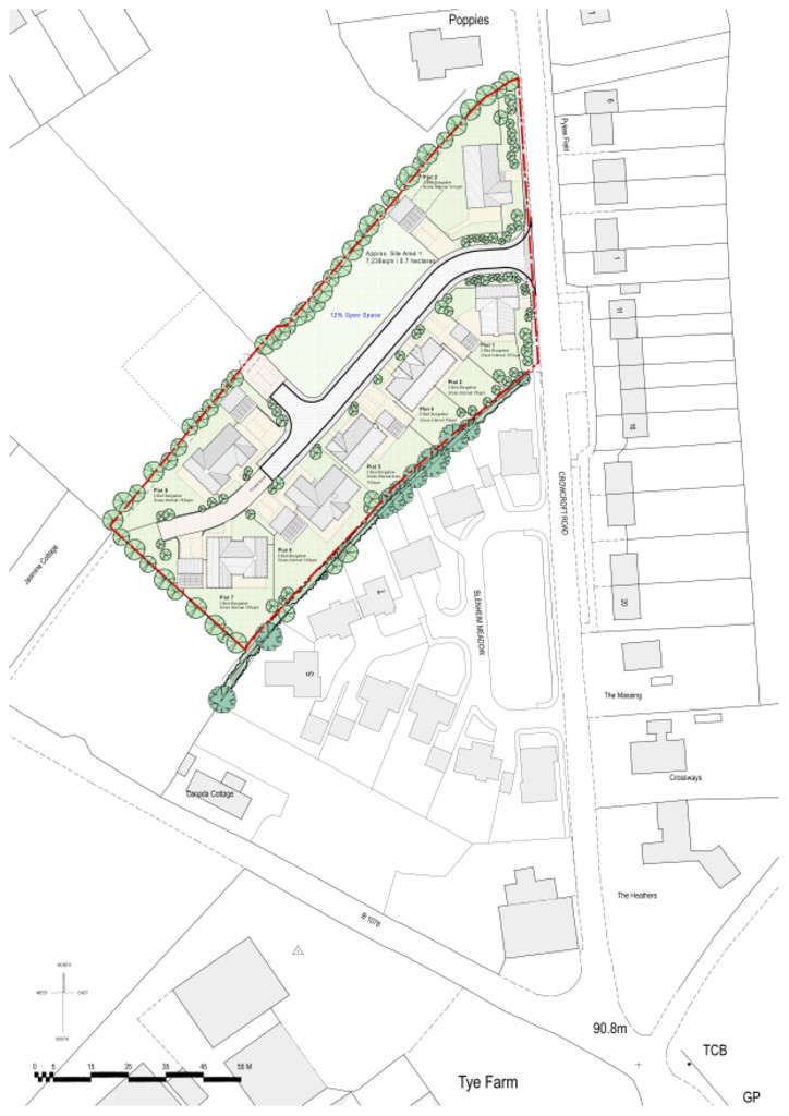 Land Commercial for sale in Crowcroft Road, Nedging Tye, Ipswich, Suffolk, IP7 7HR