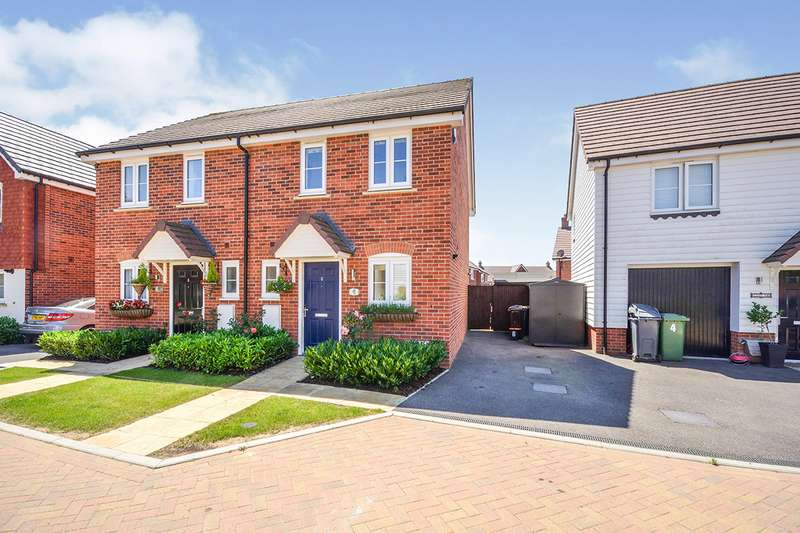 2 Bedrooms Semi Detached House for sale in Latter Road, Maidstone, Kent, ME17