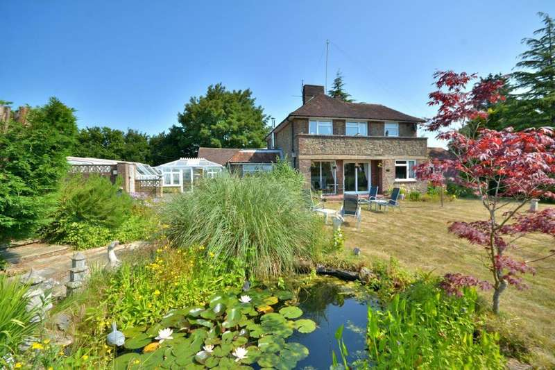 4 Bedrooms Detached House for sale in Gay Street, Pulborough, RH20