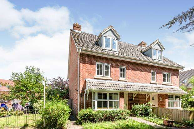 4 Bedrooms Semi Detached House for sale in Four Marks, Alton, Hampshire