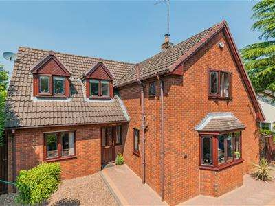 4 Bedrooms Detached House for sale in First Lane, Off Morthen Road, Wickersley, Rotherham