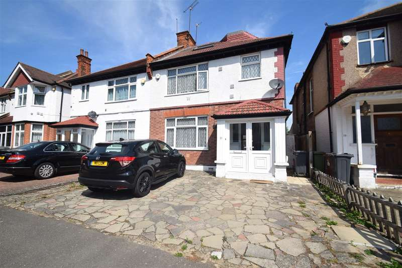 5 Bedrooms Semi Detached House for sale in Thornbury Avenue, Osterley
